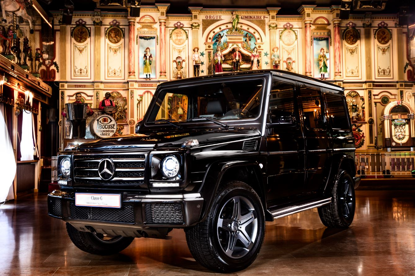 mercedes classe g paul bocuse collonges