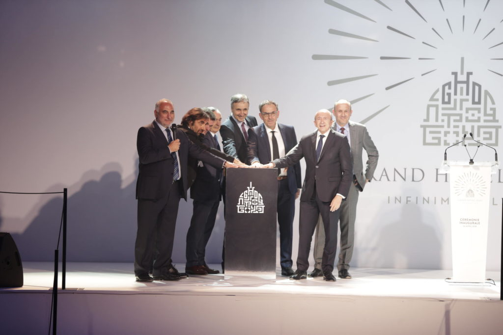 inauguration grand hotel dieu lyon