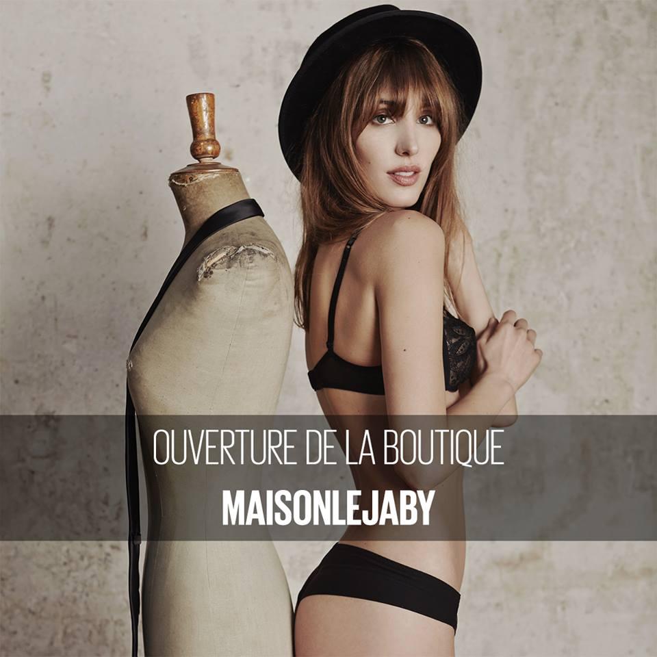 Ouverture de la boutique Maison Lejaby à Lyon !