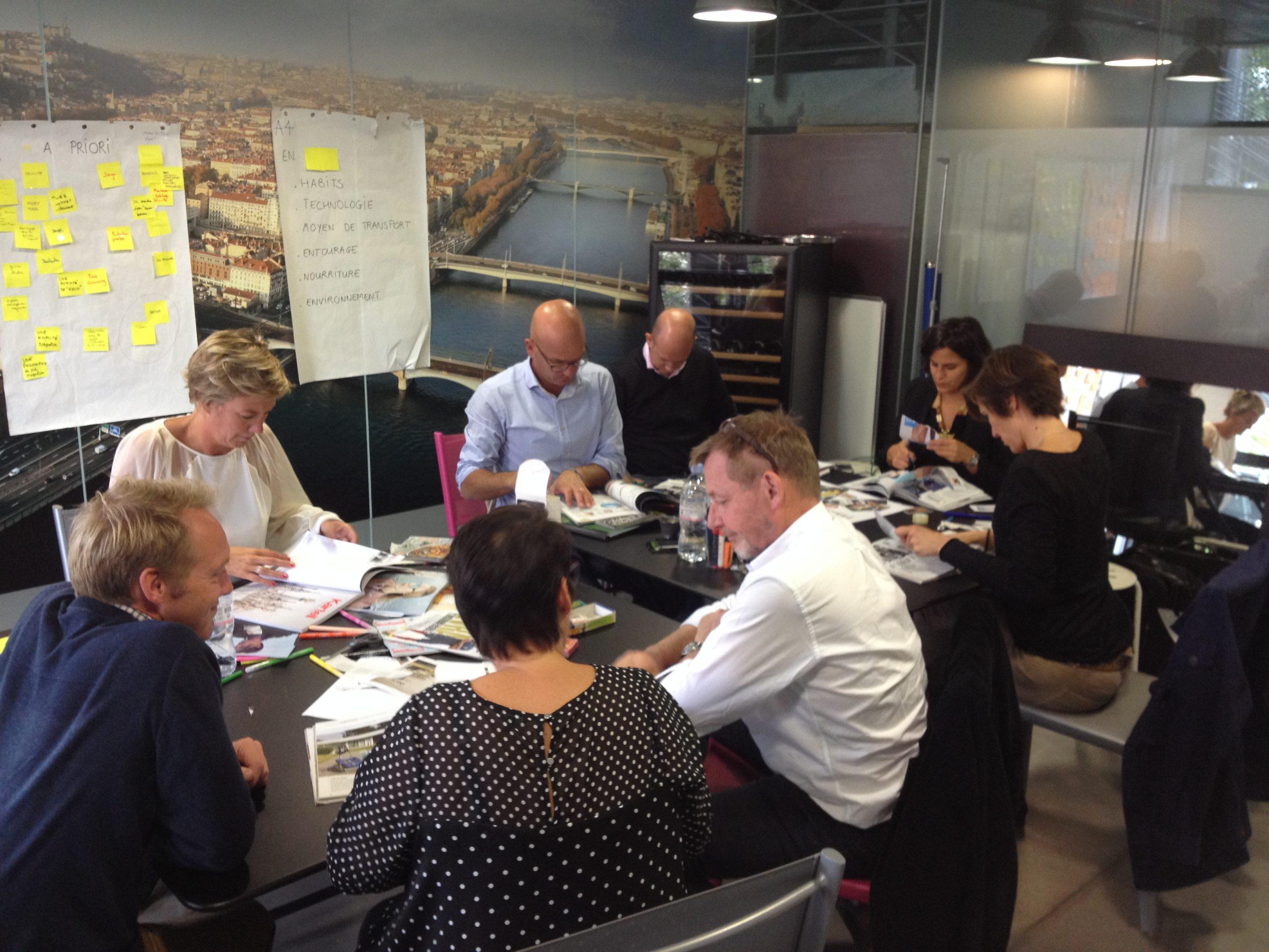 Les ateliers de créativité /design thinking EDS