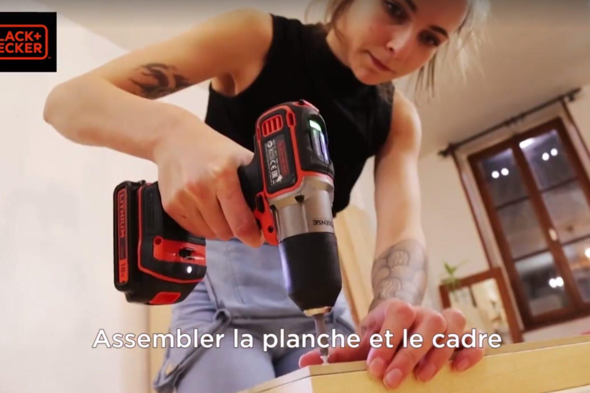 Vidéos DIY BLACK+DECKER