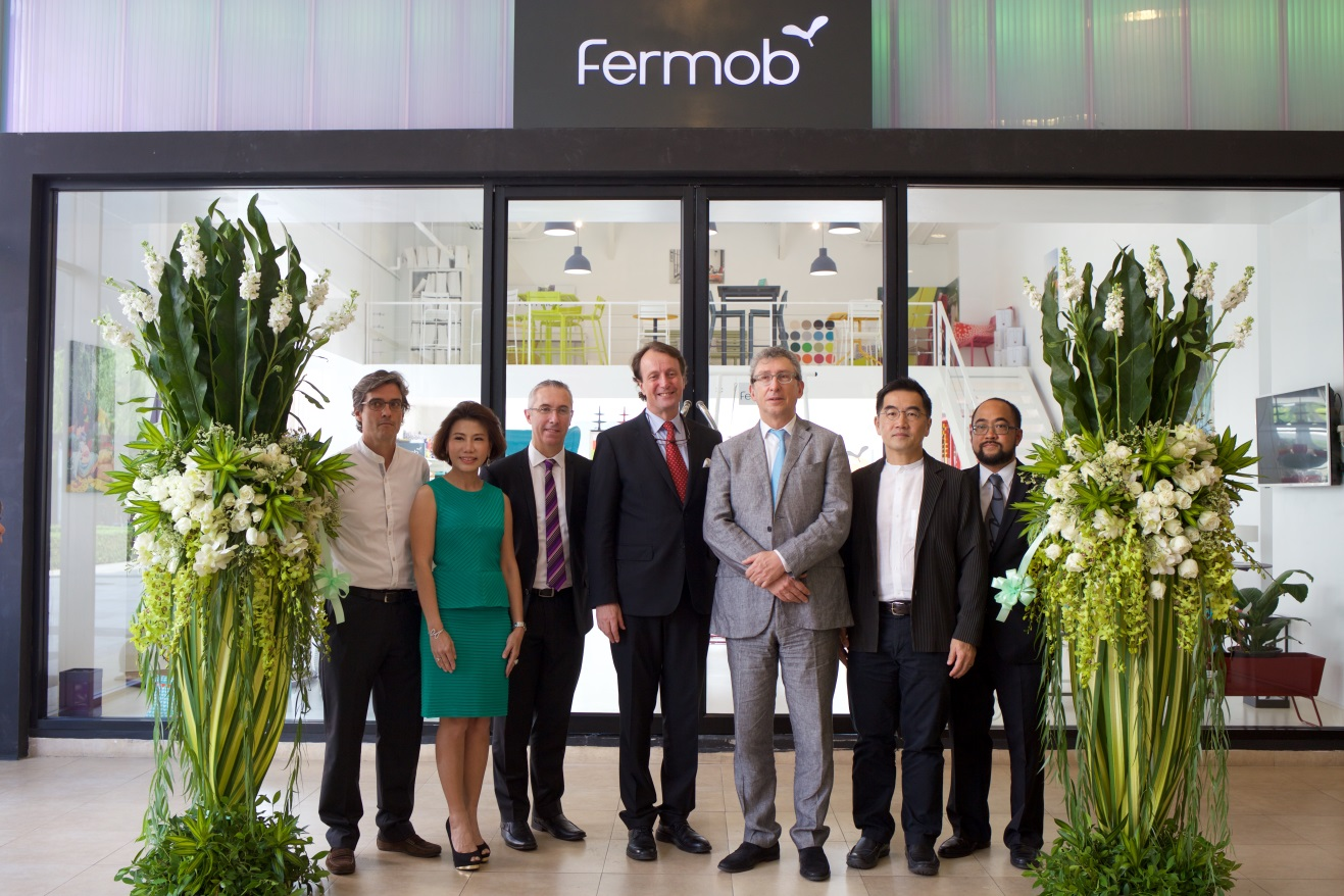 Fermob continue sa conquête, direction … Bangkok !