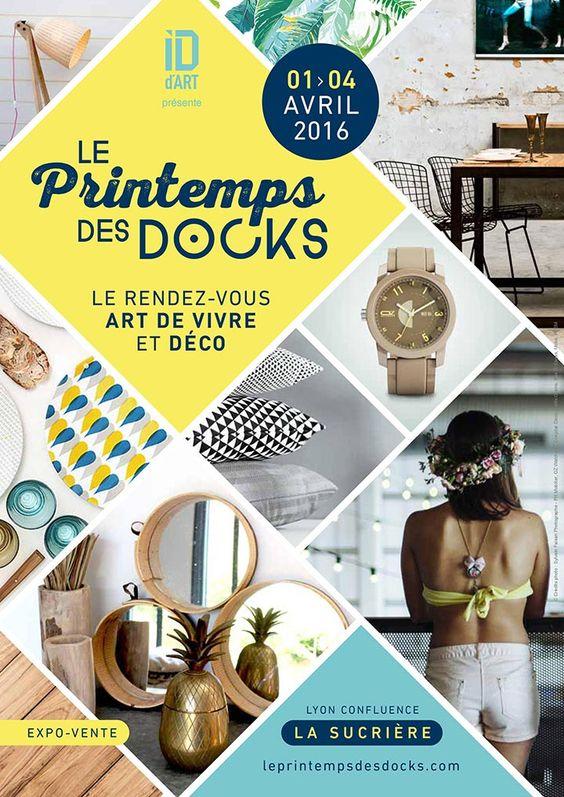 Le Printemps des Docks – le rendez-vous art de vivre et déco