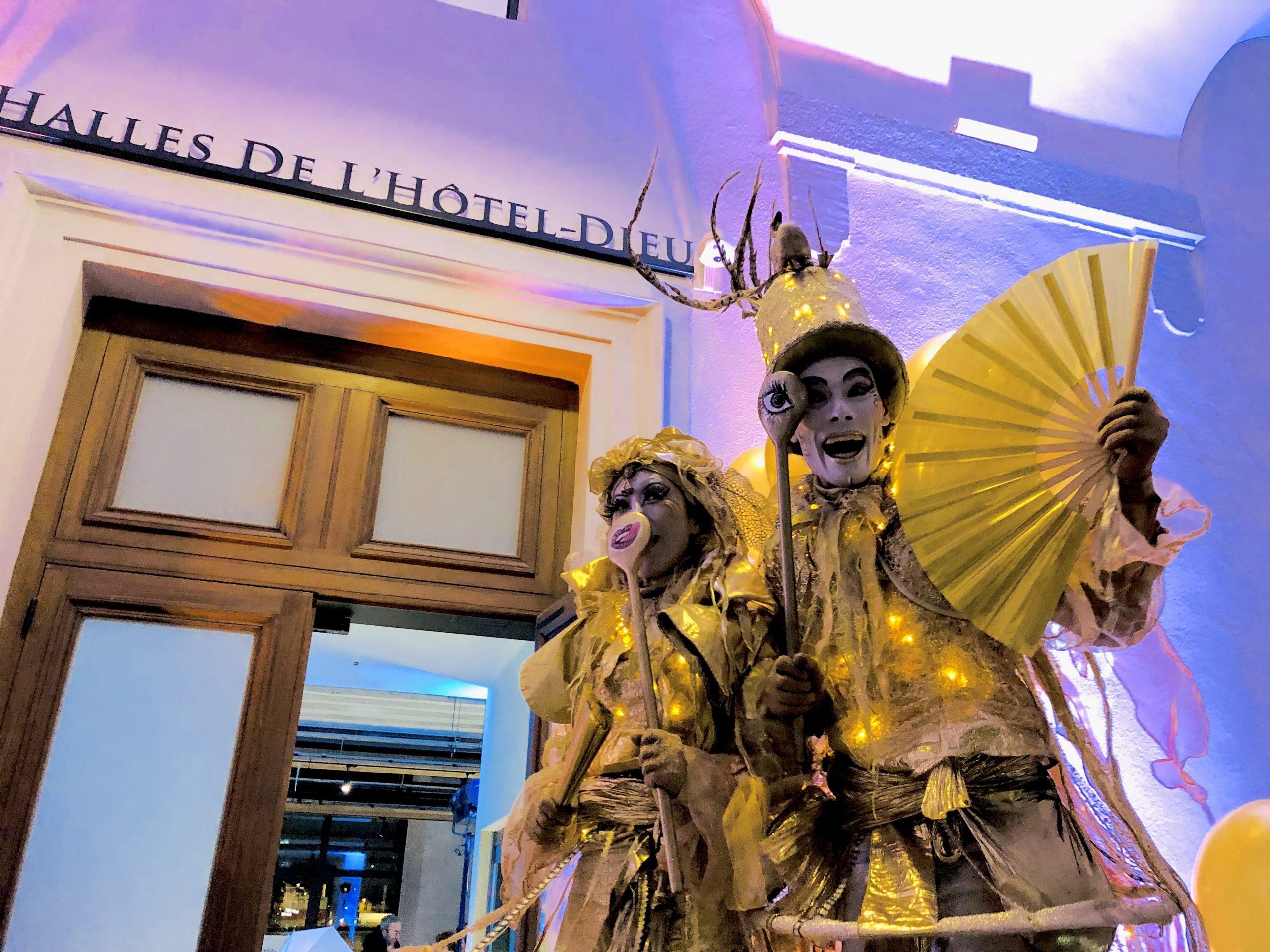 Inauguration des Halles du Grand Hôtel Dieu: Esprit des Sens aiguise vos papilles